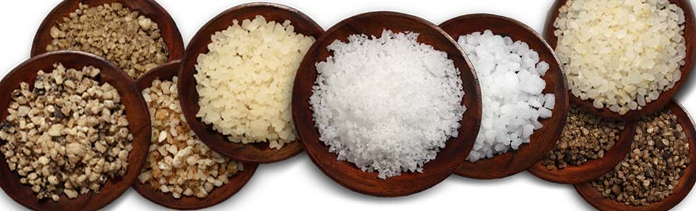 various sea salts