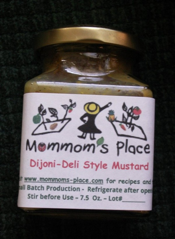 Homemade dijon deli style mustard